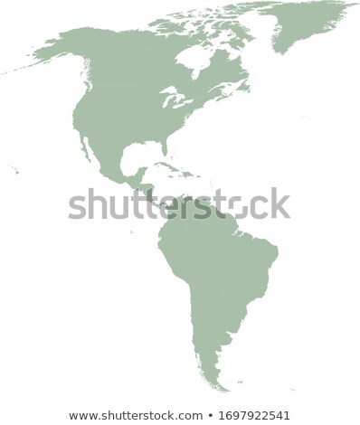 North and South America Global World in Space Stock photo © fenton