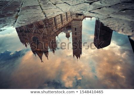 városkép · középkori · Olaszország · utazás · épületek · építészet - stock fotó © bigjohn36