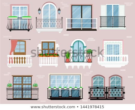 old balconies Stock photo © jarp17