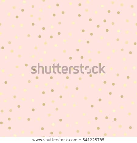 Stockfoto: Naadloos · stippel · gouden · abstract · retro · behang