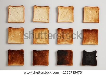焼いた パン スライス 木製 ストックフォト © lunamarina