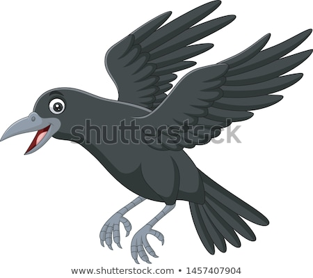 икона ворон Raven иллюстрация Сток-фото © zzve