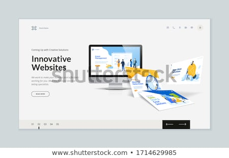 Web Design. Puzzle Concept. Stock photo © tashatuvango
