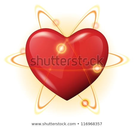orbiting hearts  Stock photo © silense