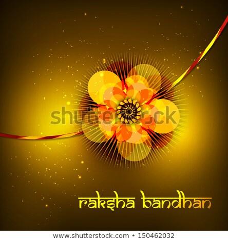 美しい カード 祭り ベクトル 手 愛 ストックフォト © bharat