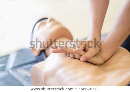 corazón · masaje · paramédico · medicina · ayudar - foto stock © wellphoto