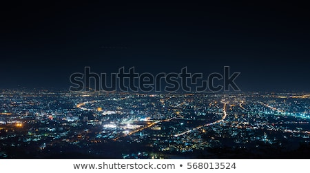 City lights at night winter Stock photo © Juhku
