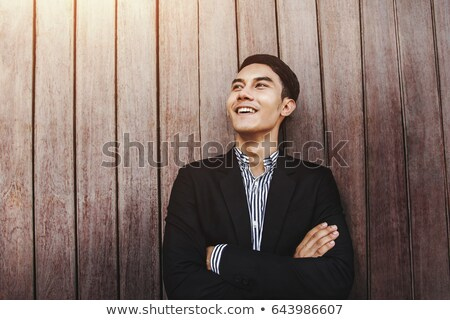 Smiley businessman Stock photo © pressmaster