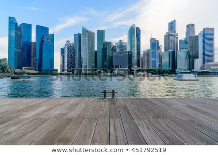 Singapore city downtown Stock photo © vichie81