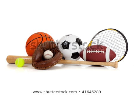 équipements sportifs golf football sport tennis baseball Photo stock © JanPietruszka
