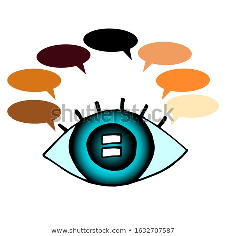 Talking With Eyes Stock photo © Lightsource