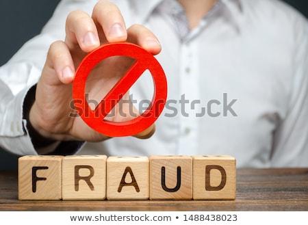 Fraude falsificação dicionário definição palavra livro Foto stock © devon