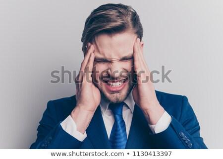 Bad headache Stock photo © ichiosea