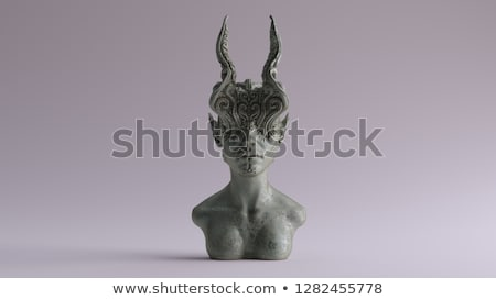 Creepy statue. Stock photo © Fisher