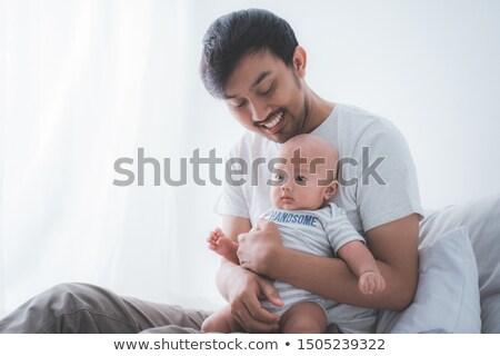due · uomini · piedi · esterna · incollaggio · sorridere · amore - foto d'archivio © bmonteny