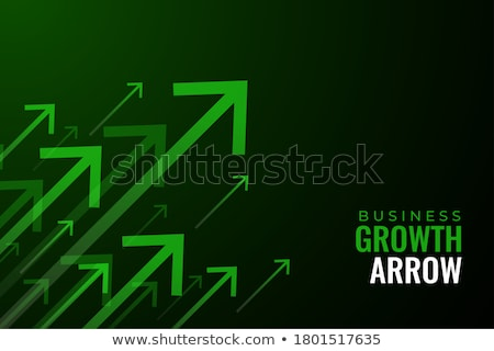 Benefit on Green  Arrow. Stock photo © tashatuvango