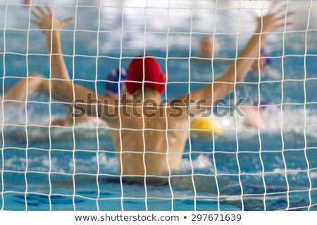 Water polo net Stock photo © bigandt