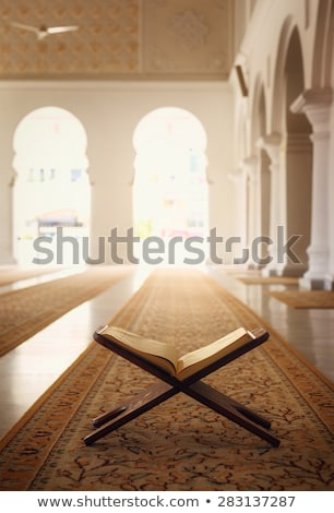 Quran Holy Book Of Muslims In Mosque Stock photo © Jasminko