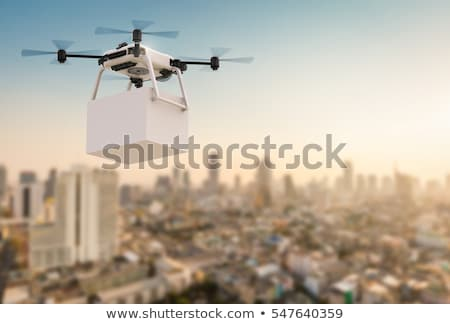 Drone Cargo Delivery Stock photo © Lightsource
