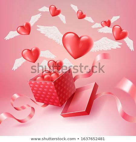 cuore · fuori · finestra · amore · luce - foto d'archivio © enlife