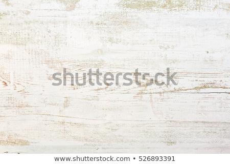 Schäbig Holz Planke geknackt gemalt Stock foto © dariazu