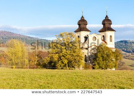 Chiesa santo Repubblica Ceca costruzione architettura Europa Foto d'archivio © phbcz
