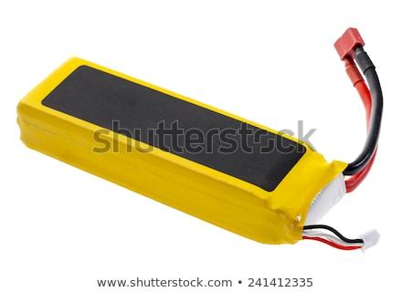 lithium · batterie · lèvre · équilibrage · principale · pouvoir - photo stock © pixelsaway