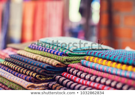 Traditional Vietnamese ethnic scarfs Stock photo © smithore