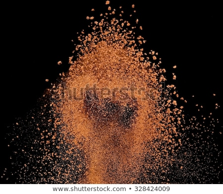 close-up of a granulated ground Stock photo © nito