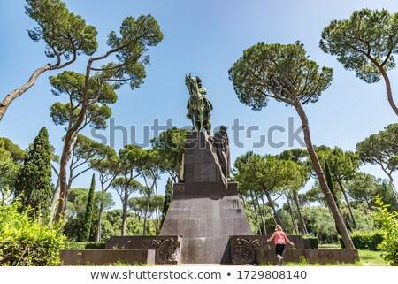King Umberto I Monument Stock photo © marco_rubino