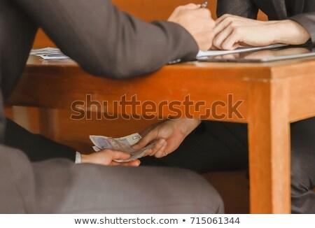 Money under paper Stock photo © fuzzbones0