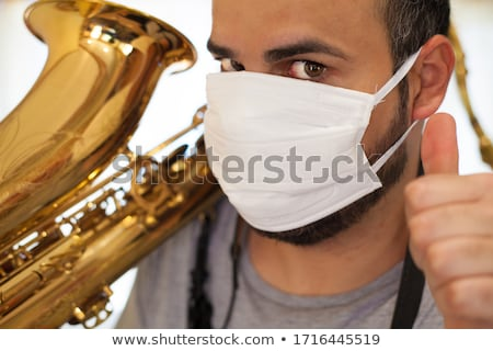 Saxophone Musician Stock photo © JamiRae