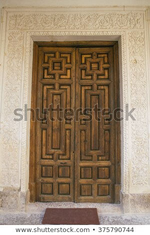 университета · парадная · дверь · город · ЮНЕСКО · Мир · наследие - Сток-фото © rmbarricarte