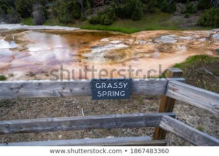 оранжевый терраса горячей воды белый Сток-фото © emattil