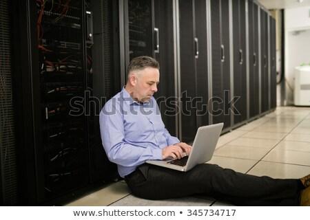 техник цифровой кабеля серверы большой Сток-фото © wavebreak_media
