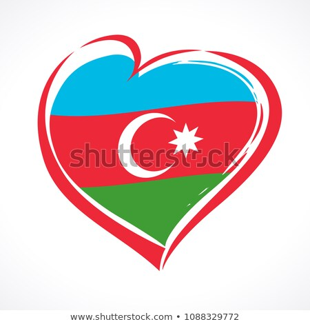 Azerbaijan flag on shirt Stock photo © fuzzbones0