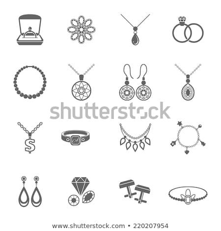 Link Sign golden Vector Icon Design Stock photo © rizwanali3d