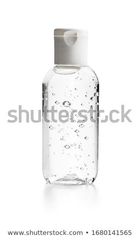 műanyag · üvegek · test · törődés · termékek · három - stock fotó © shutswis