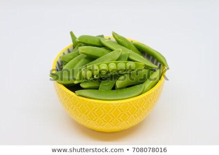 Pea Pod in bowl  Stock photo © ozaiachin