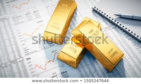 értékes · fémek · kereskedés · globális · ezüst · rácsok - stock fotó © EvgenyBashta