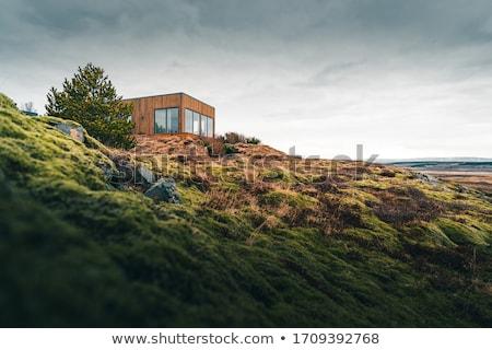 small house in the mountains stock photo © kotenko