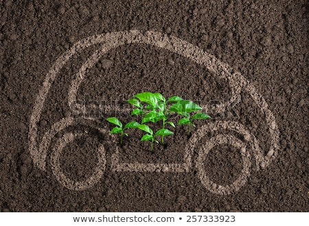 生態学的な · 車 · 尊敬 · 惑星 · 自然 · 技術 - ストックフォト © lightsource