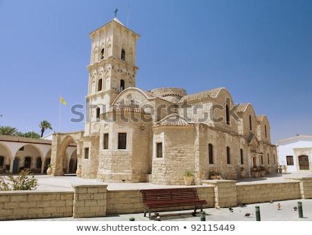 Kerk Cyprus gebouw stad reizen Stockfoto © Kirill_M
