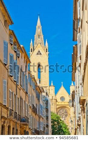 Ingust stradă tipic case vechi casă Imagine de stoc © meinzahn