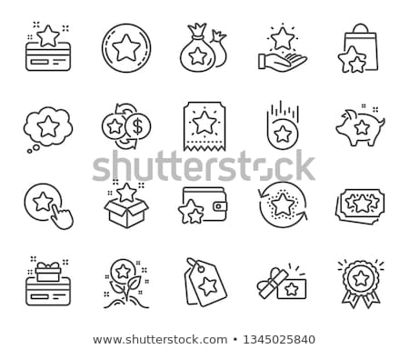 reward icons Stock photo © get4net