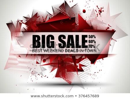 черная · пятница · продажи · реклама · Label · черный · дизайна - Сток-фото © davidarts