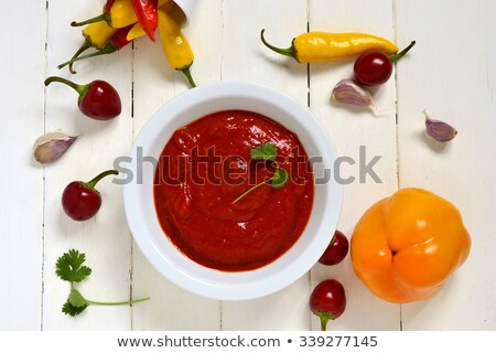 Roasted pepper sauce Stock photo © Digifoodstock