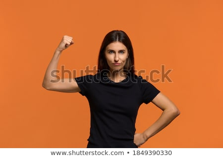 Dangerous And Armed Girl Stock photo © MilanMarkovic78