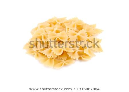 raw farfale pasta Stock photo © FOKA