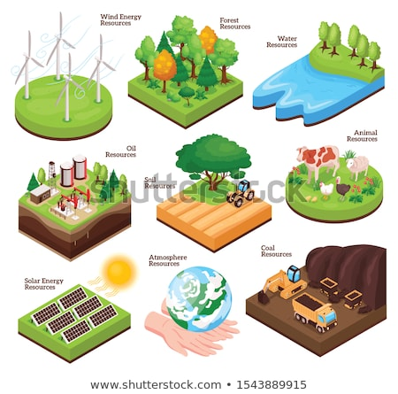 Land resources Stock photo © bluering
